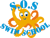 SOS School of Swimming Logo